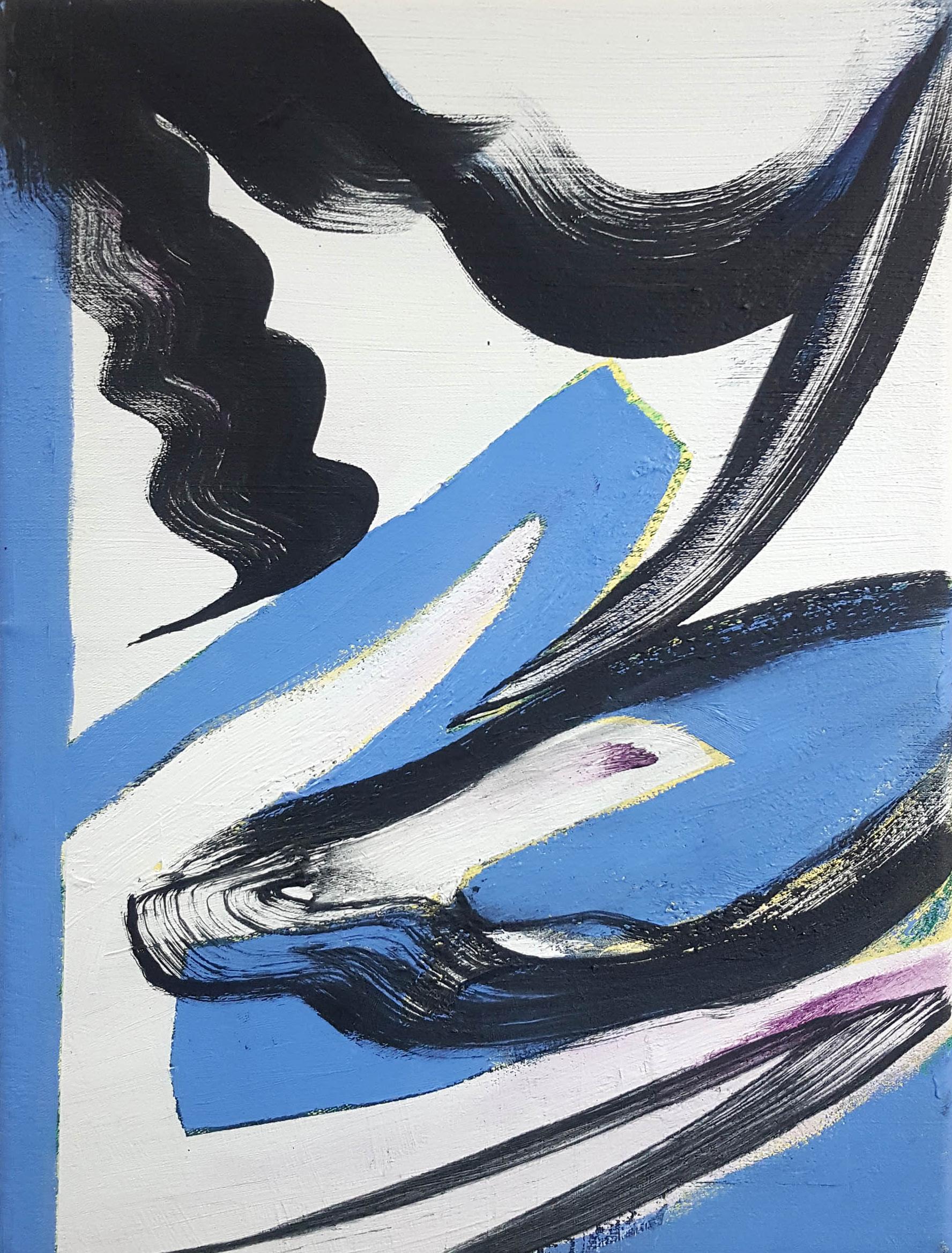 Janine van Oene / Seabird Sea Me / 2018 / 40 x 30 cm /  oil on canvas