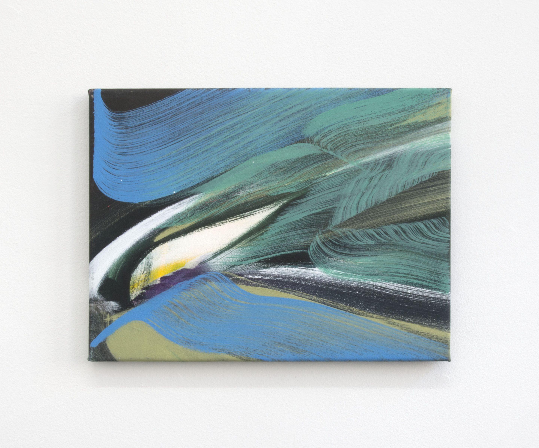 Janine van Oene / Gaze / 2018 / 30 x 40 cm /  oil on canvas